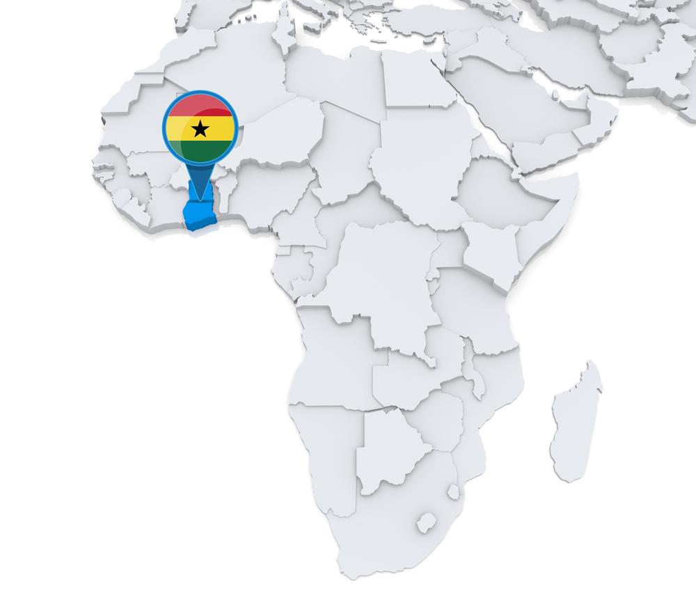 Ghana Gold Exploration Ashanti Sankofa Inc - Ghana africa map